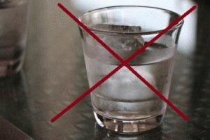 Ограничения к водке