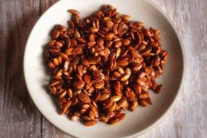 Тыквенные семена с мёдом