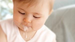 Срыгивание ребёнка