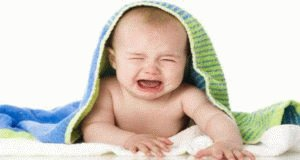 Ребенок плачет без слёз
