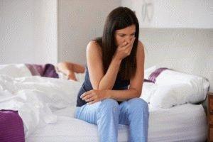 Пищевое отравление женщины