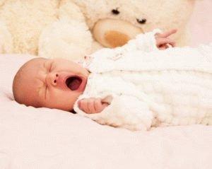 Младенец задыхается