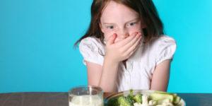 Рвота у ребёнка от еды