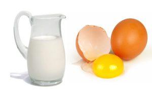 Желток и молоко