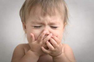 Ощущение тошноты ребёнком