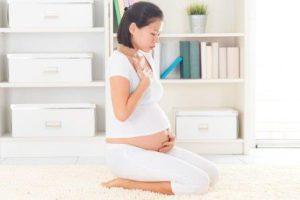 Болезненность беременной