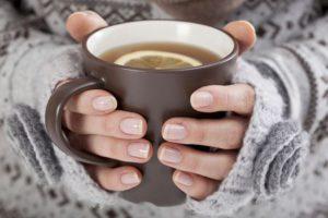 Тёплое питьё полезно
