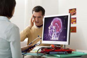 Пациент у невролога