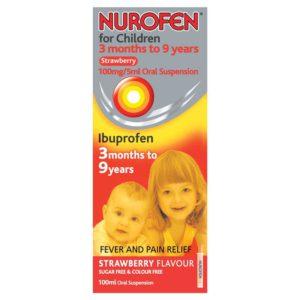 Препарат Нурофен детский