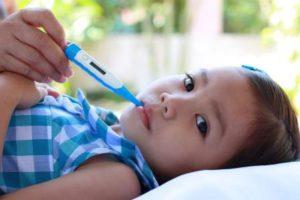 Повышение температуры у ребёнка
