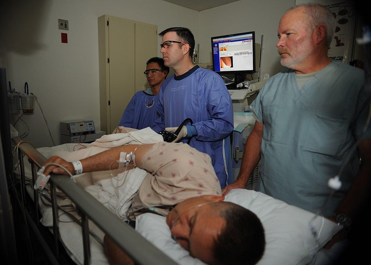 Колоноскоп (фиброколоноскоп) для диагностики кишечника