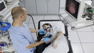 Гастроскопия больного