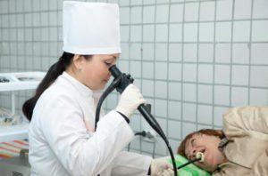 Фиброгастродуоденоскопия больного