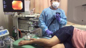 Процесс колоноскопии