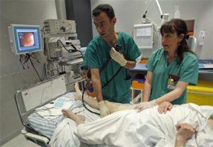 Колоноскопия пациента