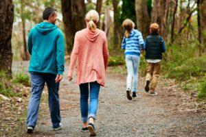 Пешая прогулка