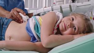 УЗИ брюшной полости ребёнка