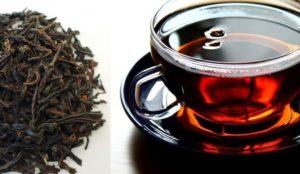 Крепкий чёрный чай