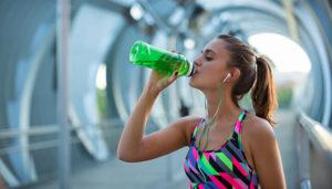 Обильное питьё воды