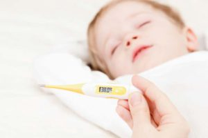Повышенная температура у ребёнка