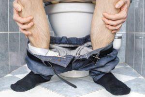 Появление диареи у человека