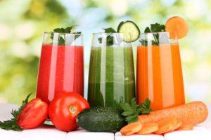 Свежие овощные соки