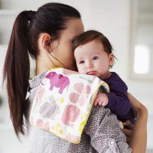 Отрыжка у младенца