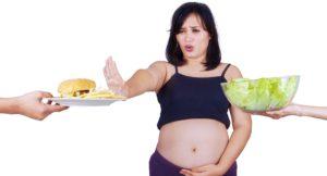 Нежелание есть при беременности