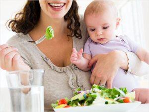Питание матери при лактации