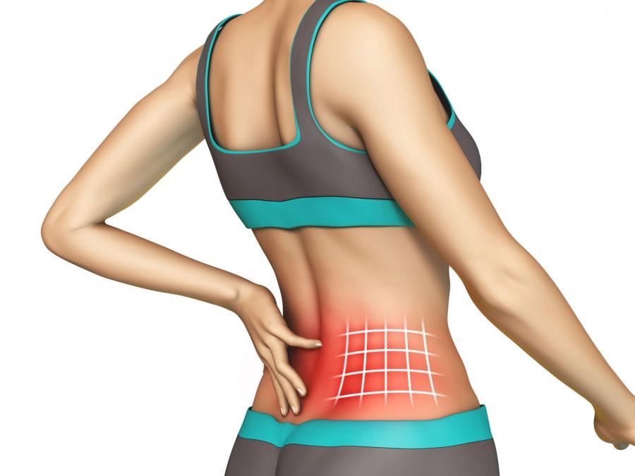 Симптомом каких патологий может выступать опоясывающая боль в области живота и спины