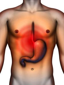 Боль в желудке при гастрите