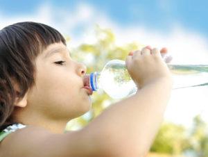 Простая вода для детей