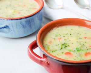 Лёгкий нежирный суп