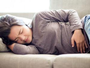 Ощущение болей в кишечнике