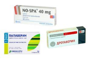Лекарственные препараты при болях от газов