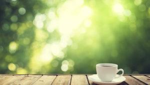 Кофе утром