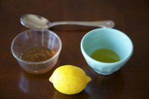 Масло с лимоном и мёдом