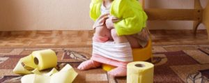 Ребёнок с поносом