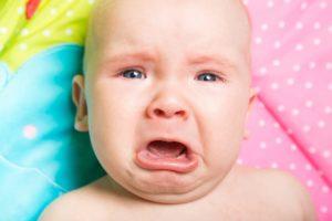 Запор у младенца