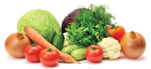 Овощи как источники витаминов