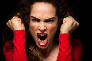 Переживание эмоции гнева