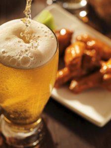 Алкоголь и жирная пища