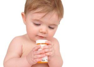 Ребёнок и таблетки