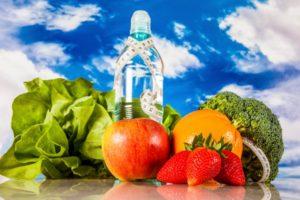 Вода и еда