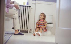Расстройство живота у ребёнка
