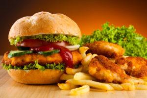 Жирная и острая пища