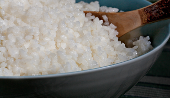 Распаренная рисовая крупа