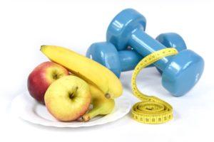 Занятия спортом и здоровое питание
