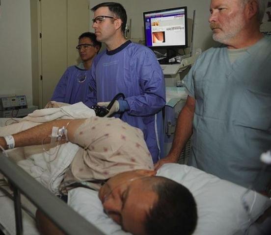 Колоноскопия у пациента