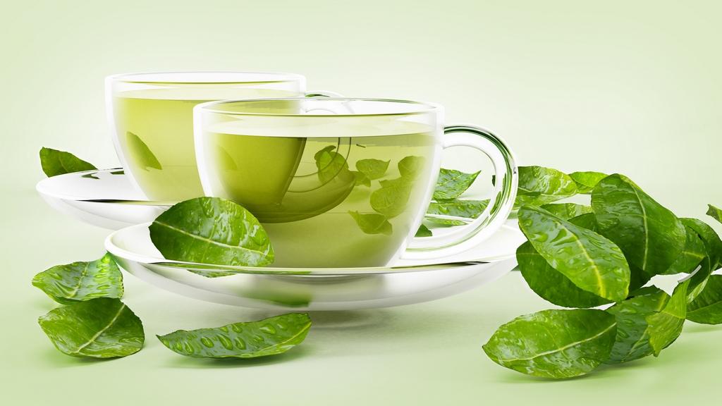 Зелёный чай как часть здорового питания